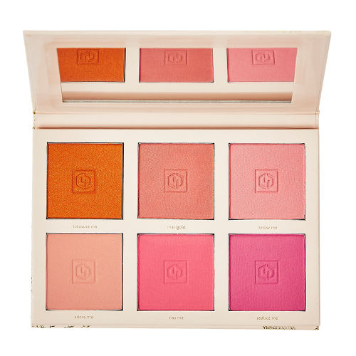 Jouer Cosmetics   Bouquet D'Amour Six Shade Blush Palette