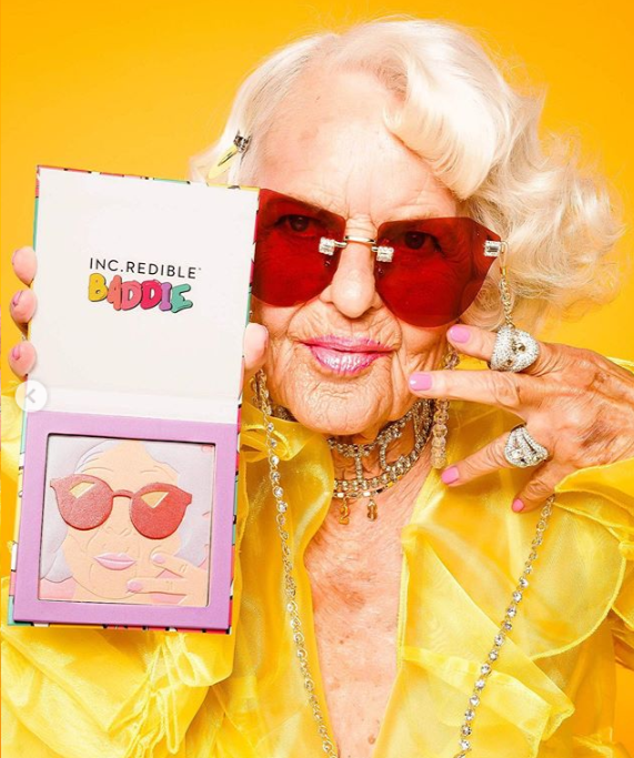 e1b5e74a05a Instagram's Raver Grandma Gets A Makeup Collab + More of Summer '19s  Brightest Releases