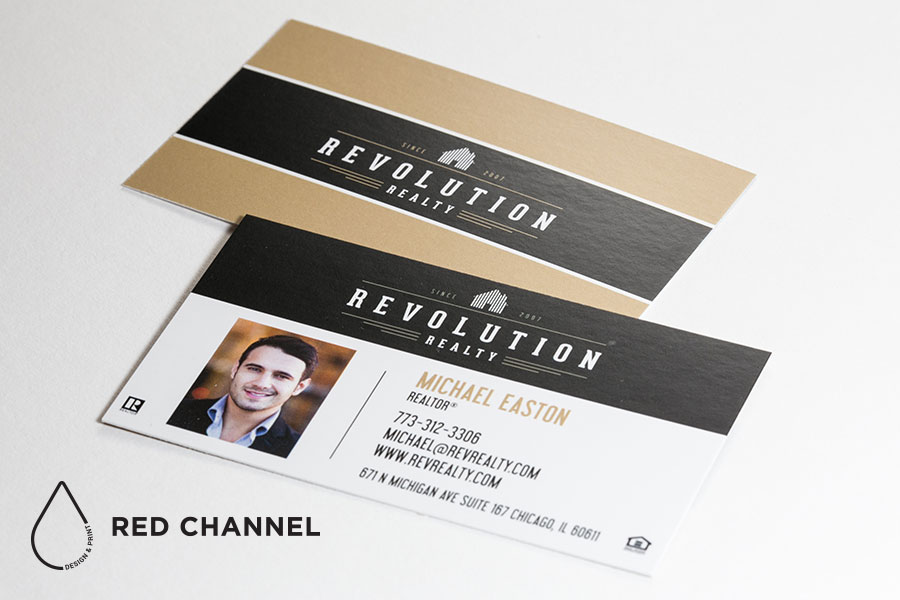 Standard business cards red channel design print gilbert standard business cards colourmoves