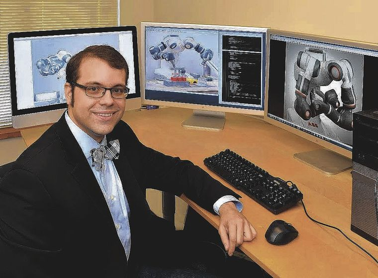 Tunxis Community College David Sanabria was recently helped design a virtual reality operated robot. For further information please contact: Clive Cunliffe Corporate Strategy and Communications ccunliffe@pietrorosacorporate.com   About Pietro Rosa TBM Pietro Rosa TBM is an international leading manufacturer of compressor airfoils and mission critical components in the energy, aerospace, oil & gas and marine markets. Pietro Rosa TBM has plants located in Europe and USA. The group invests heavily in R&D and innovation and has built up its intellectual property in hot forming, machining and surface finishing technologies through a solid collaboration with universities and research centers globally.