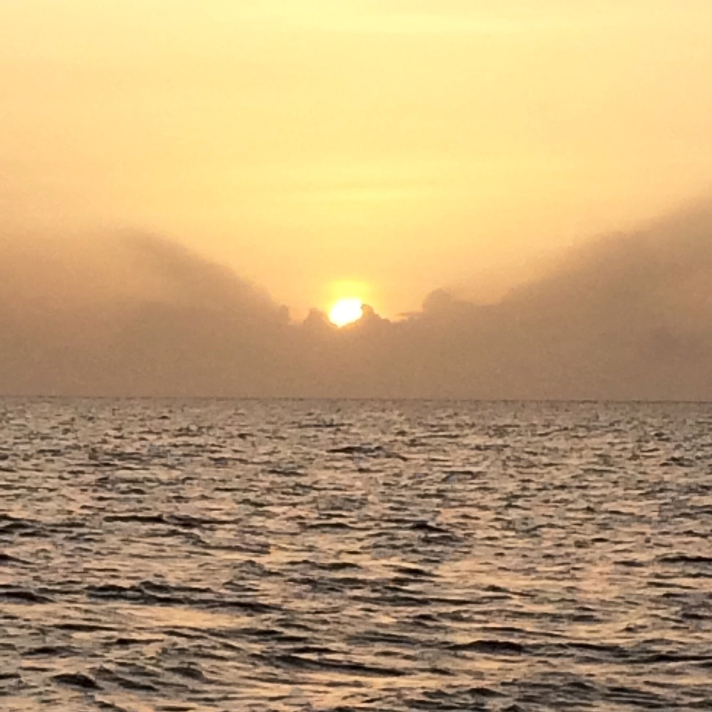 The sunset enjoyed on the Sunset Cruise with Savvy Sailing in Grenada, Photo by Doreen Pendgracs