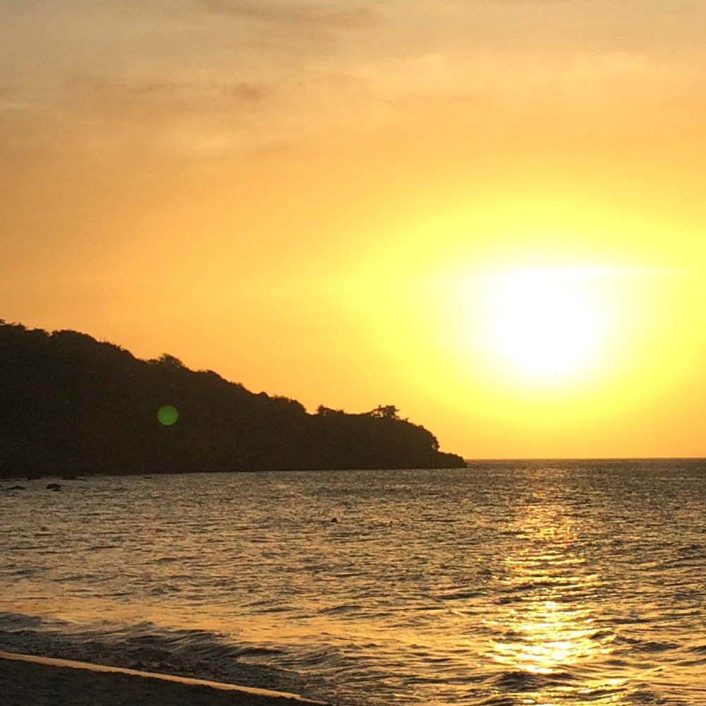 Doreen adored the sunsets in Grenada, photo by Doreen Pendgracs