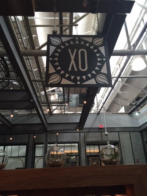 X marks the spot! Xocolatl logo sign in Krog Street Market