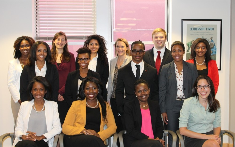 Shala (corner left) was a member of the 2014 Washington DC ProInspire Fellowship Cohort.