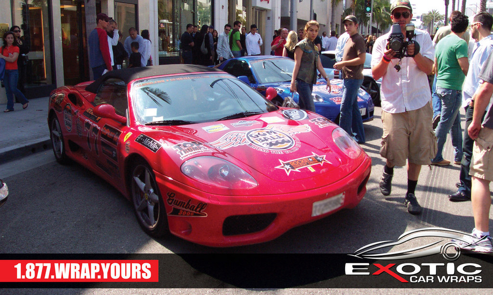 Exotic Car Wraps Car Show Exotic Car Wraps