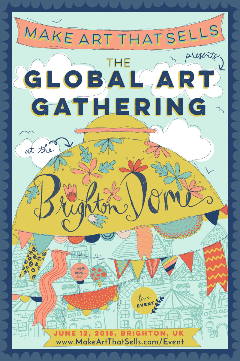 Global Art Gathering Poster