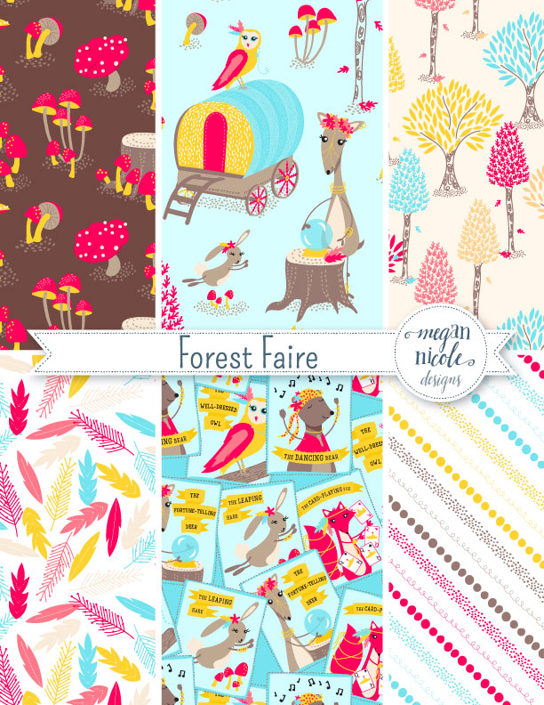 Forest Faire Collection by Megan Nicole