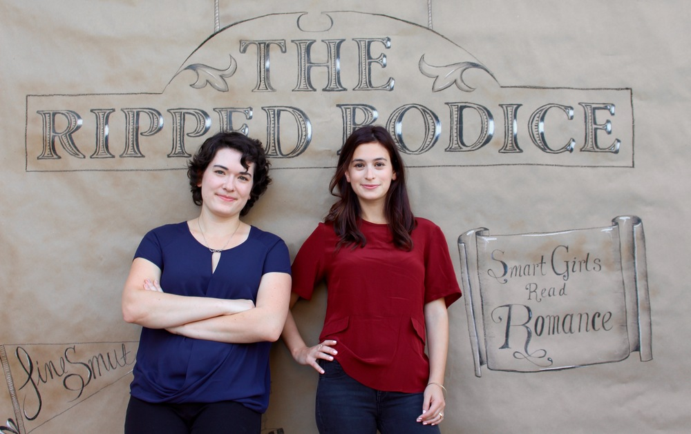 Bea & Leah Koch, owners of The Ripped Bodice  (Photo: Charlie Polinger)