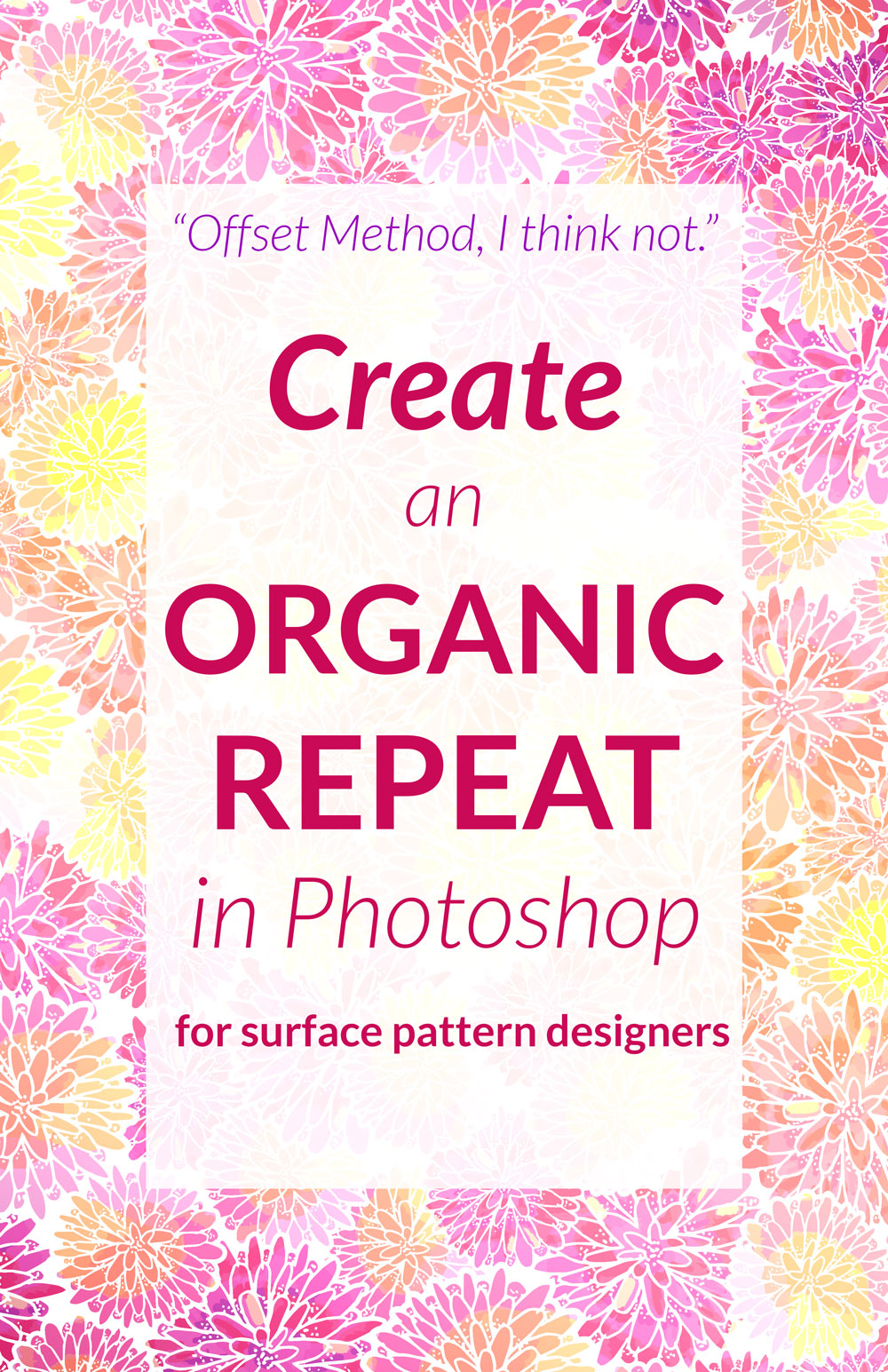 Tired of the Offset Method? Try this tutorial on creating repeats organically.