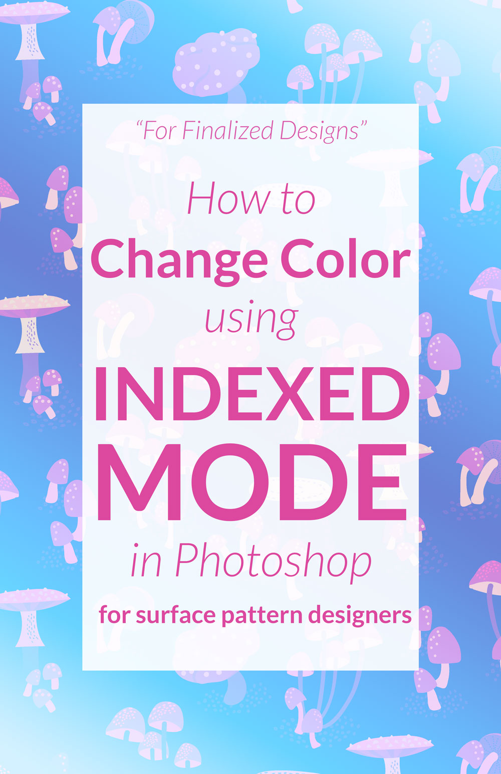 Change colors in photoshop using indexed mode