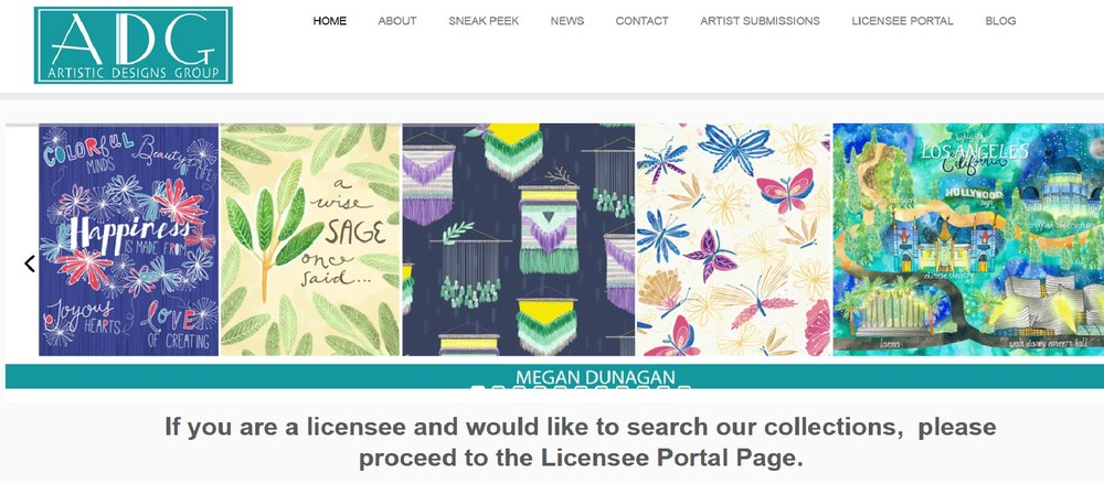 megan dunagan represented by adg artistic designs group