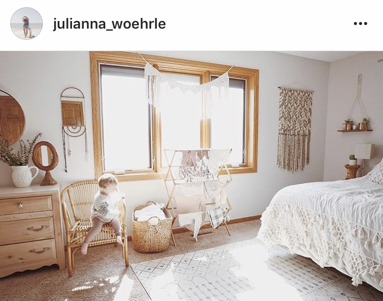 julianna_woehrle with her reclaimed wood hanging shelf