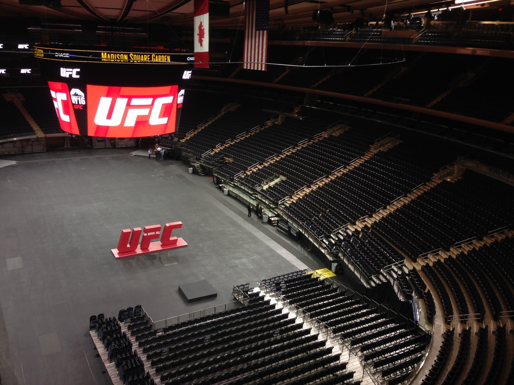 The Ultimate Fighting Championship (UFC) planted a flag in Madison Square Garden last week. This November, it will be the first MMA promotion to host a professional fight in the legendary arena.