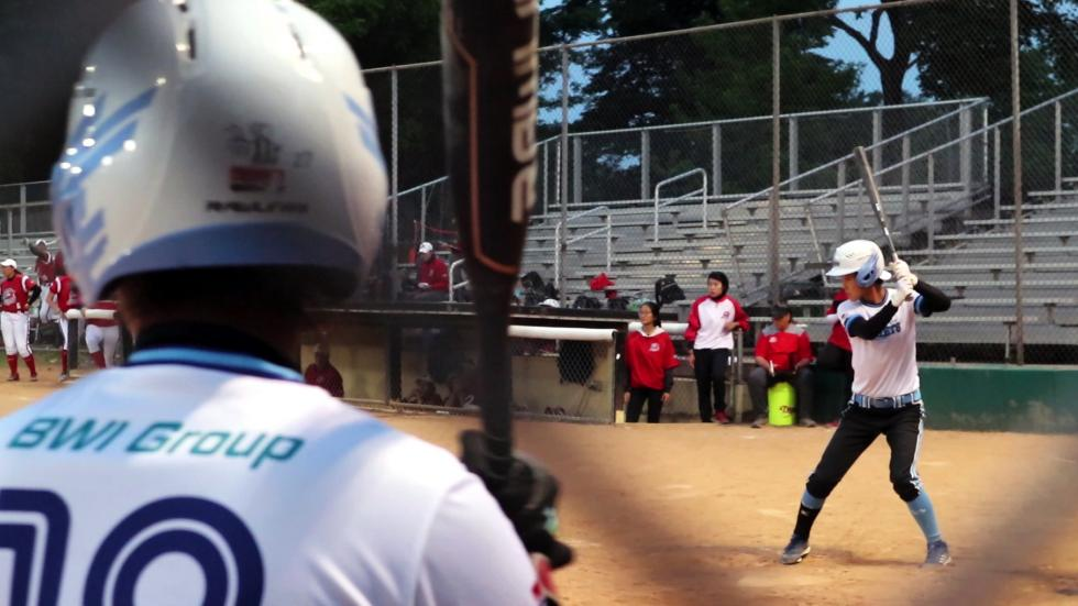 Pro softball gets a financial 'assist' from the Chinese -