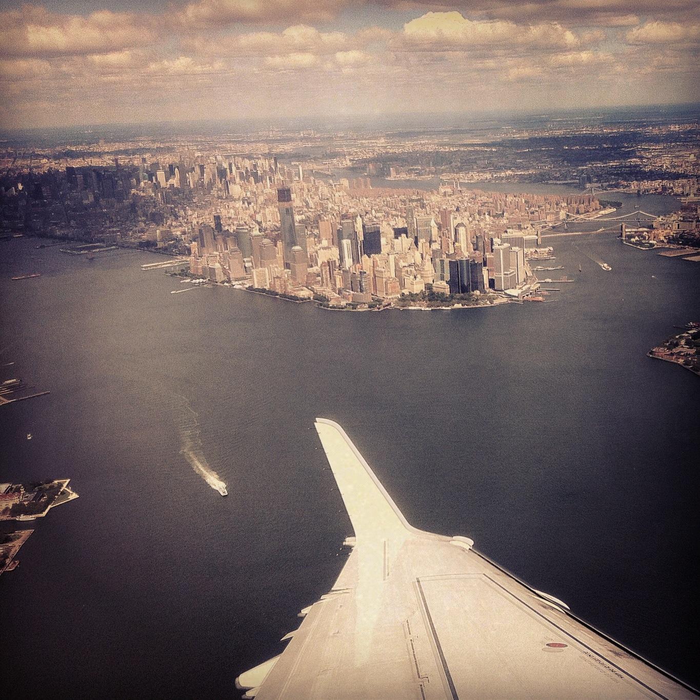 new york city, airplane, instagram new york, photography