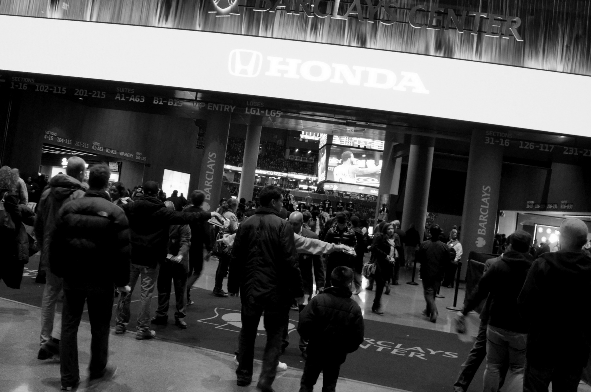 Brooklyn Nets Entrance Barclays Center