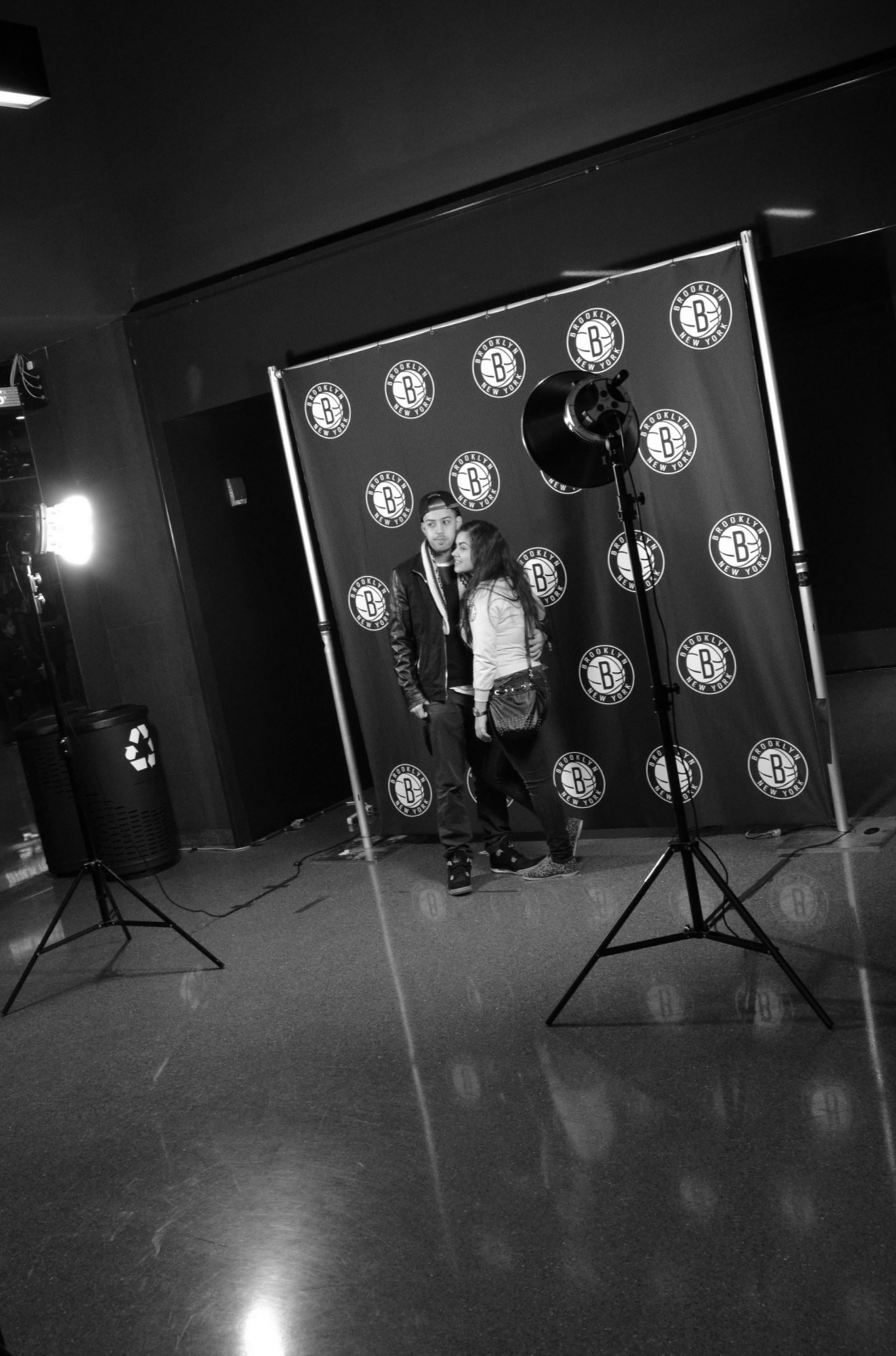 Brooklyn Nets Step and Repeat