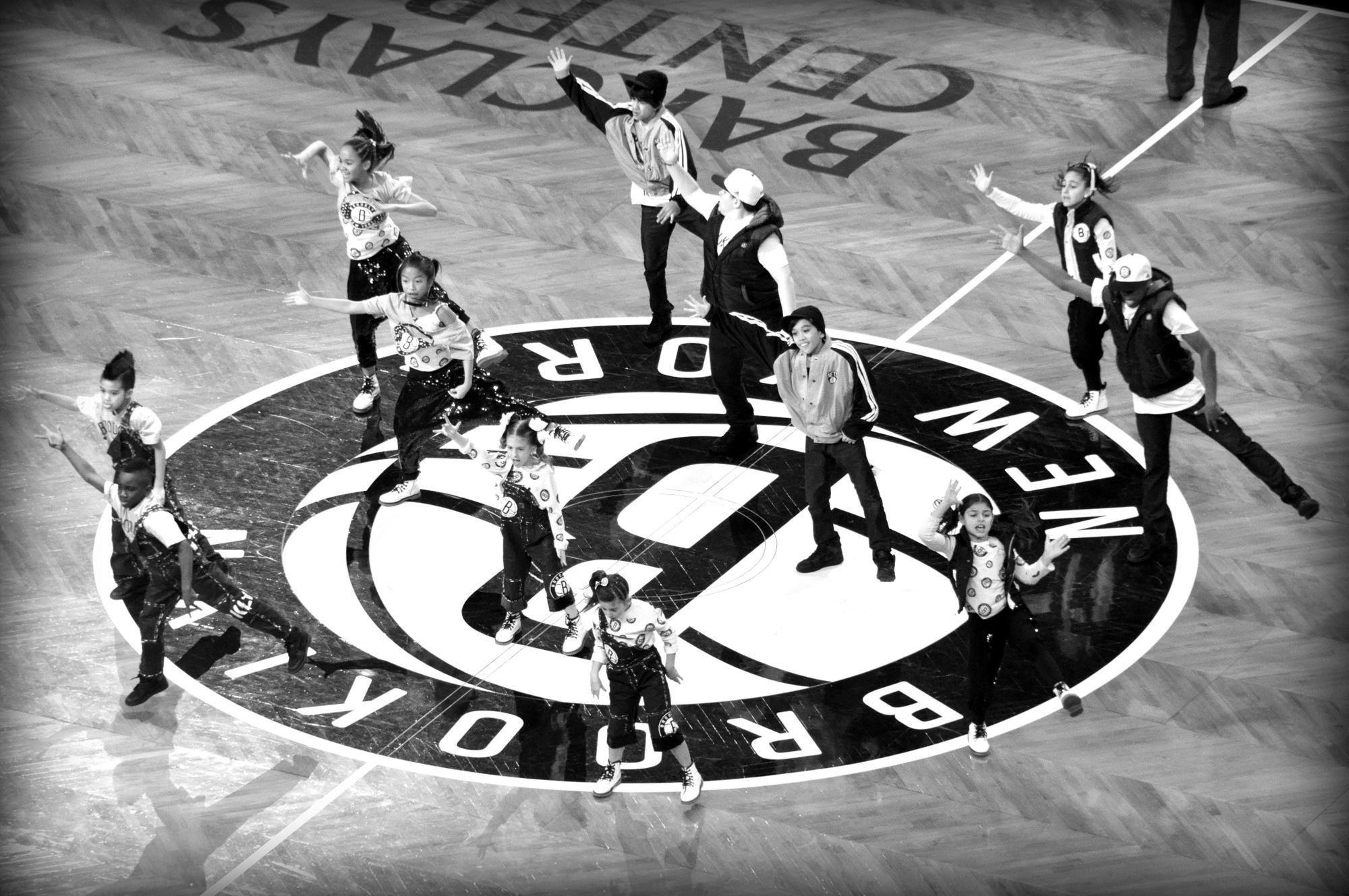 Brooklyn Nets Kids Dancers