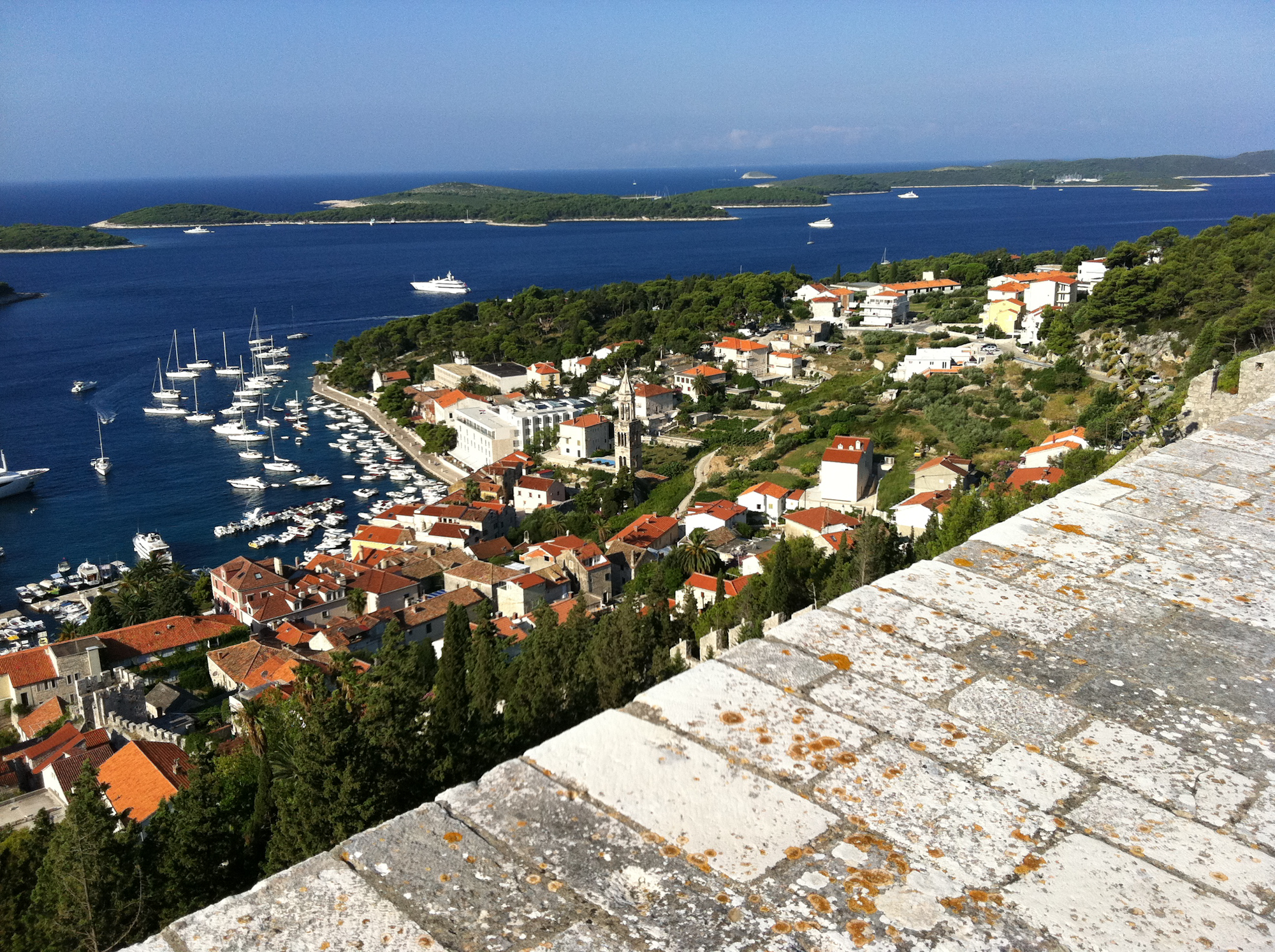 Hvar walk up to fort