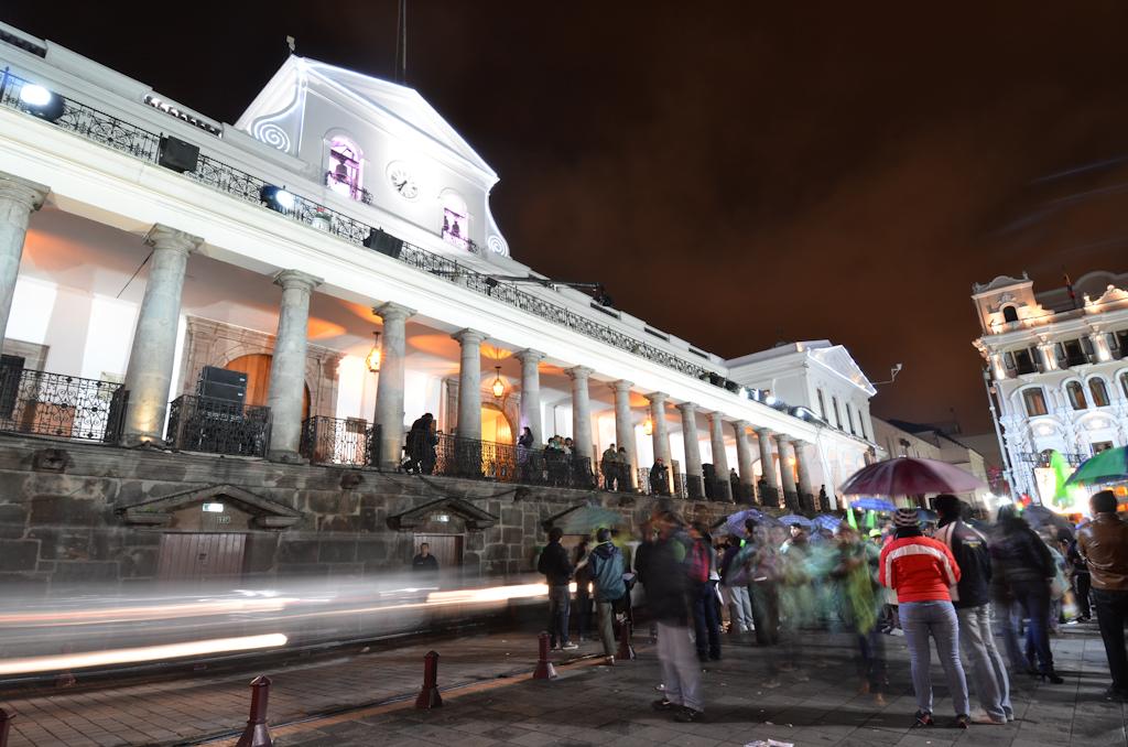 Quito Ecuador Election Rafael