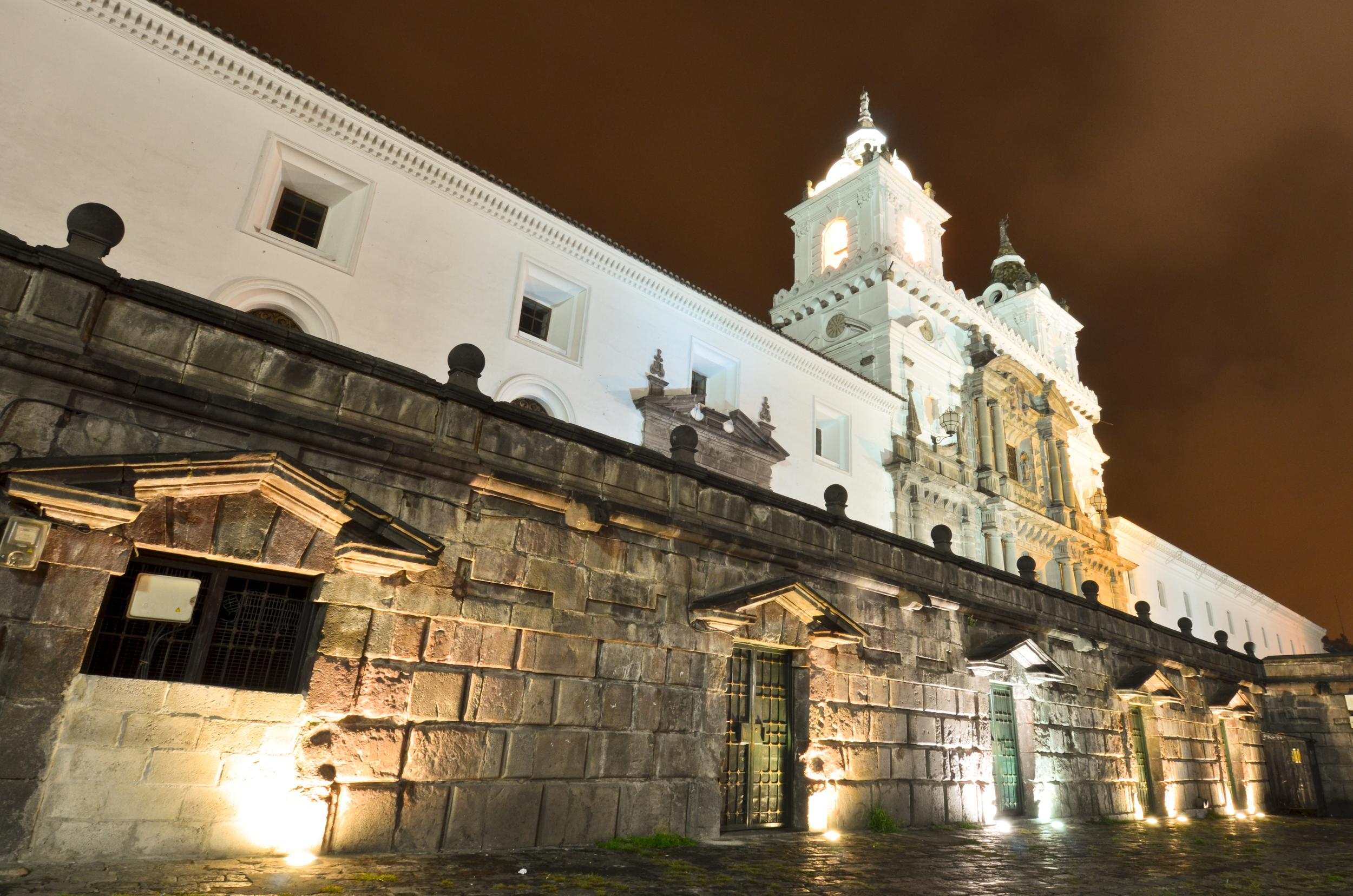 Iglesia de San Francisco Quito Ecuador