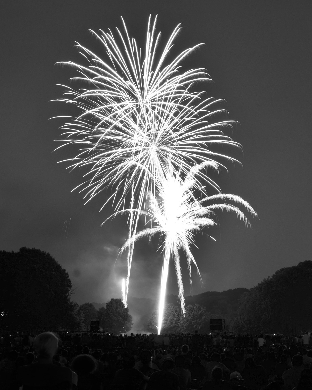 Prospect Park Fireworks Show July 2013 Brooklyn