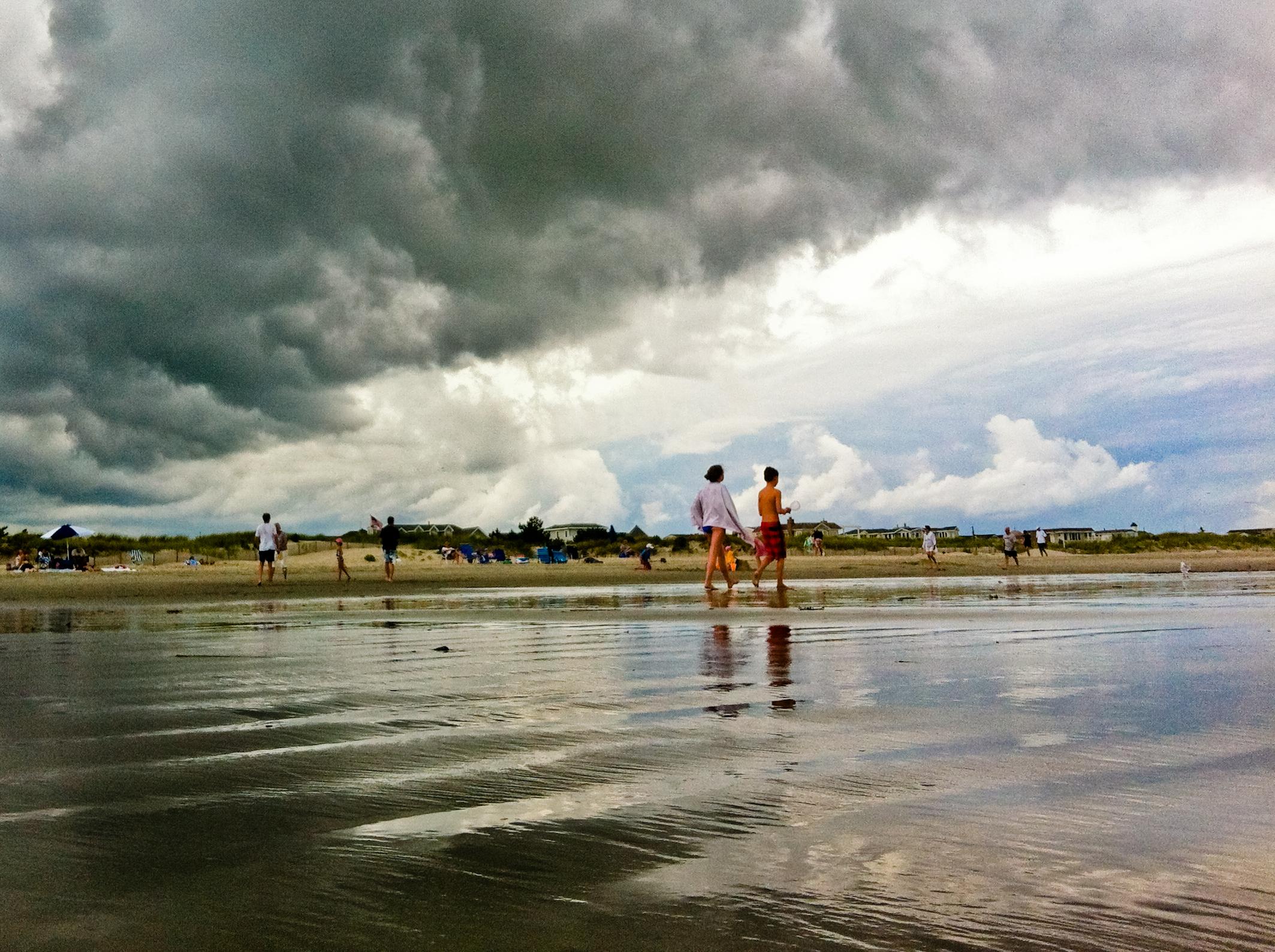 Jersey shore beach photo