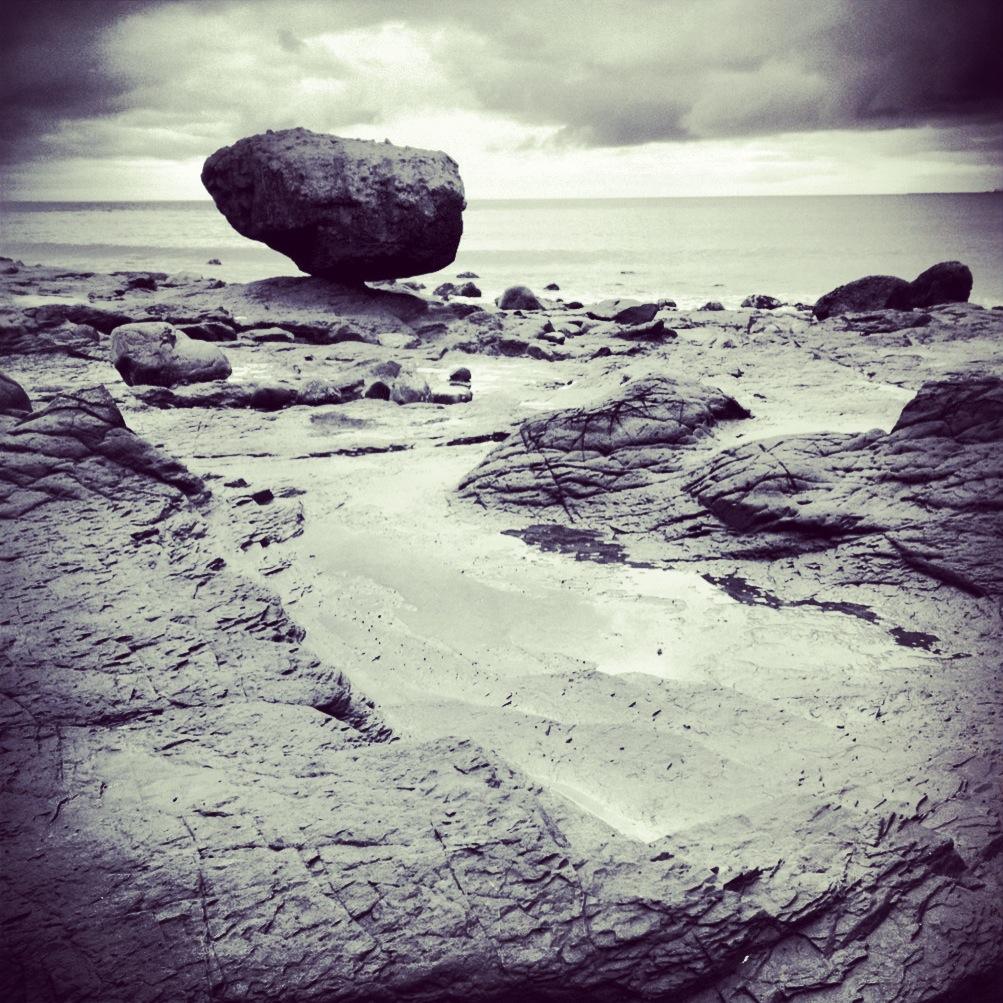 Haida Gwaii Balance Rock