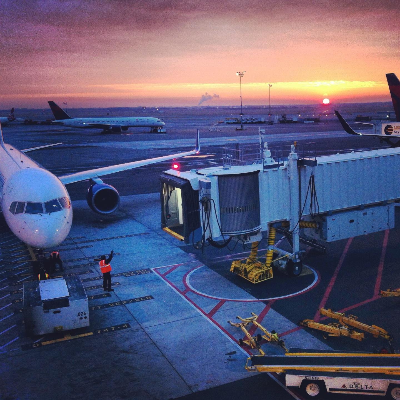 JFK Airport Sunrise