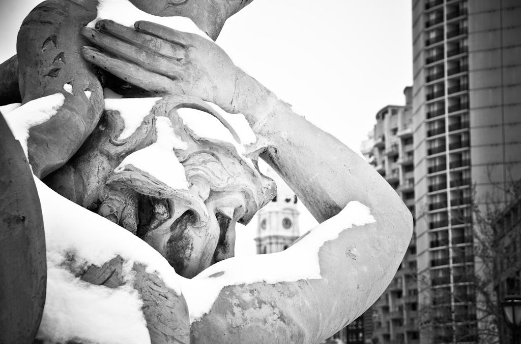 Logan Square Fountain Statue