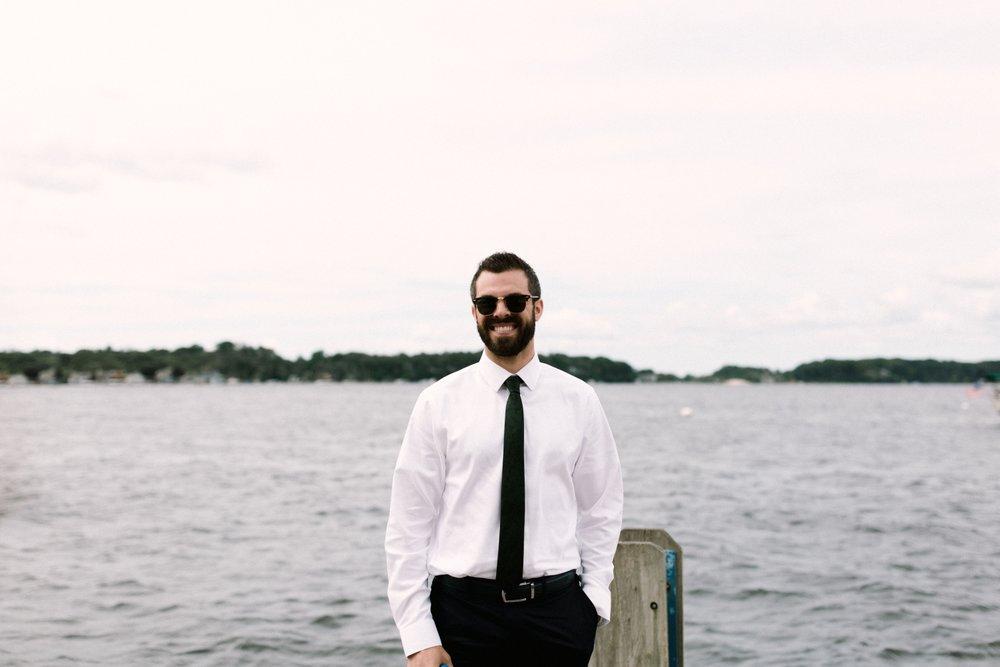 Michigan Frontyard Lake Wedding - Lauren Crawford Photography-179.jpg