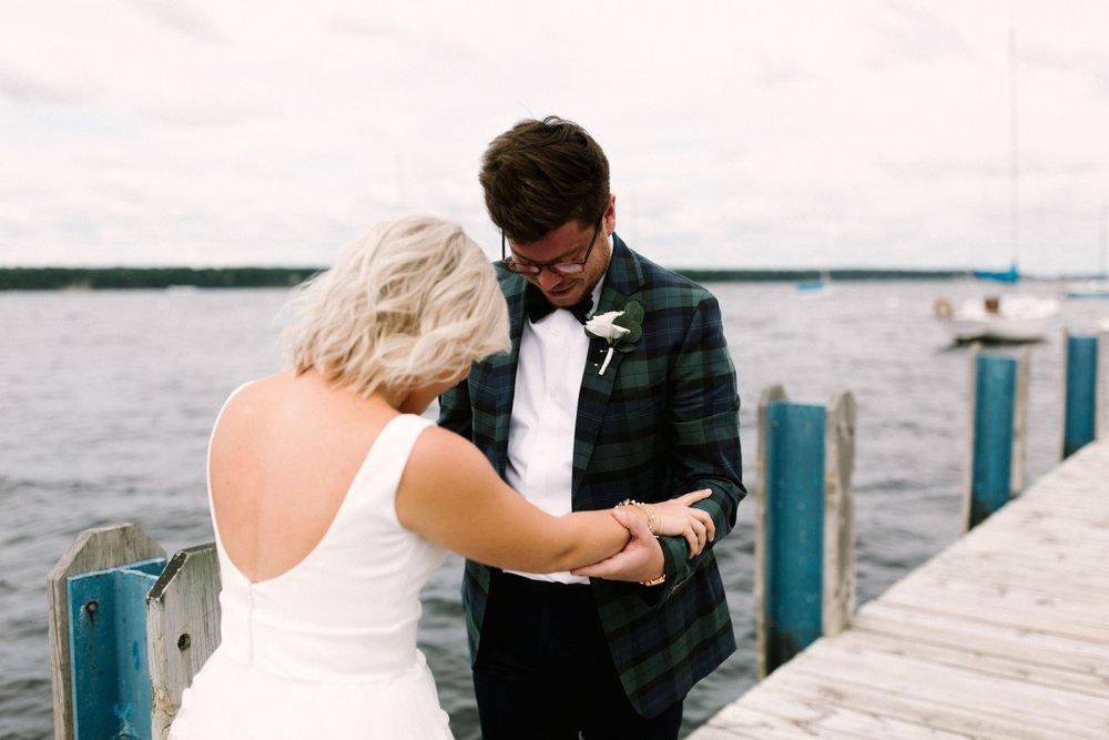 Michigan Frontyard Lake Wedding - Lauren Crawford Photography-193.jpg