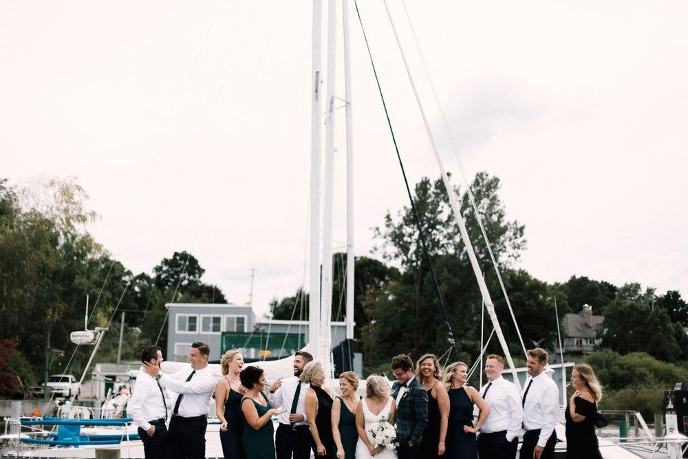 Michigan Frontyard Lake Wedding - Lauren Crawford Photography-366.jpg
