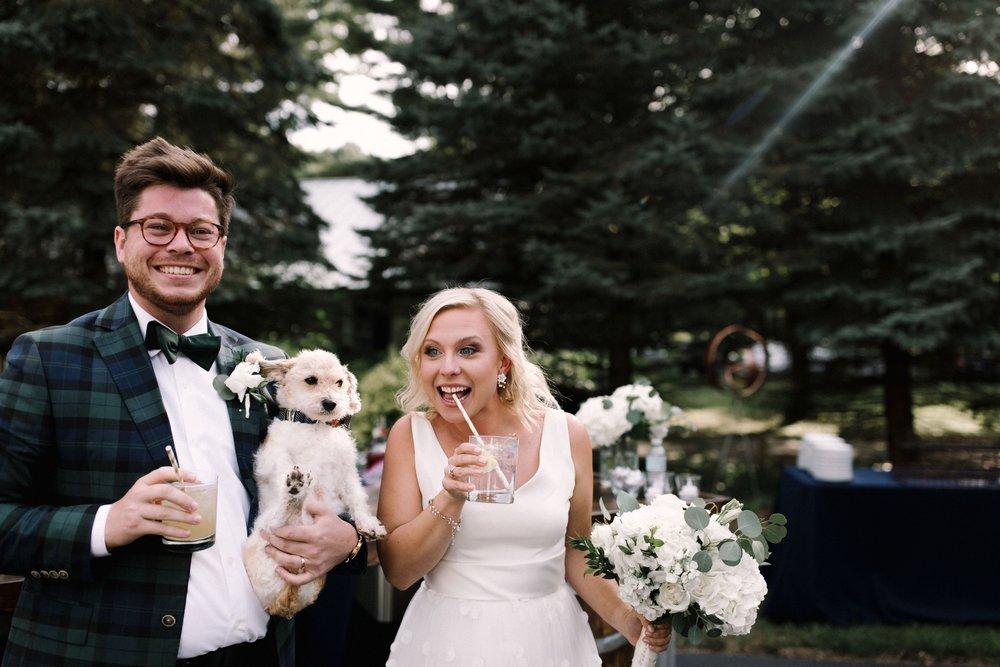 Michigan Frontyard Lake Wedding - Lauren Crawford Photography-632.jpg