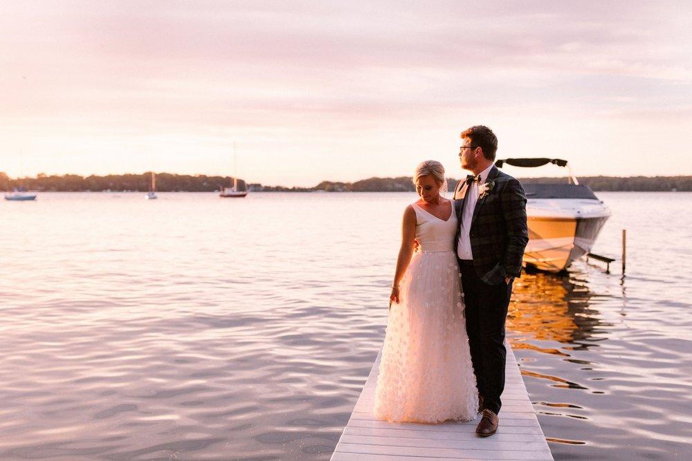 Michigan Frontyard Lake Wedding - Lauren Crawford Photography-753.jpg
