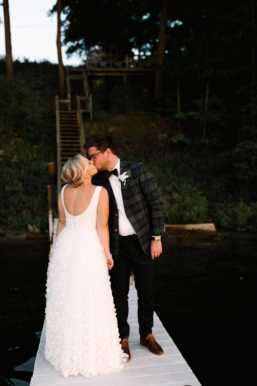 Michigan Frontyard Lake Wedding - Lauren Crawford Photography-794.jpg