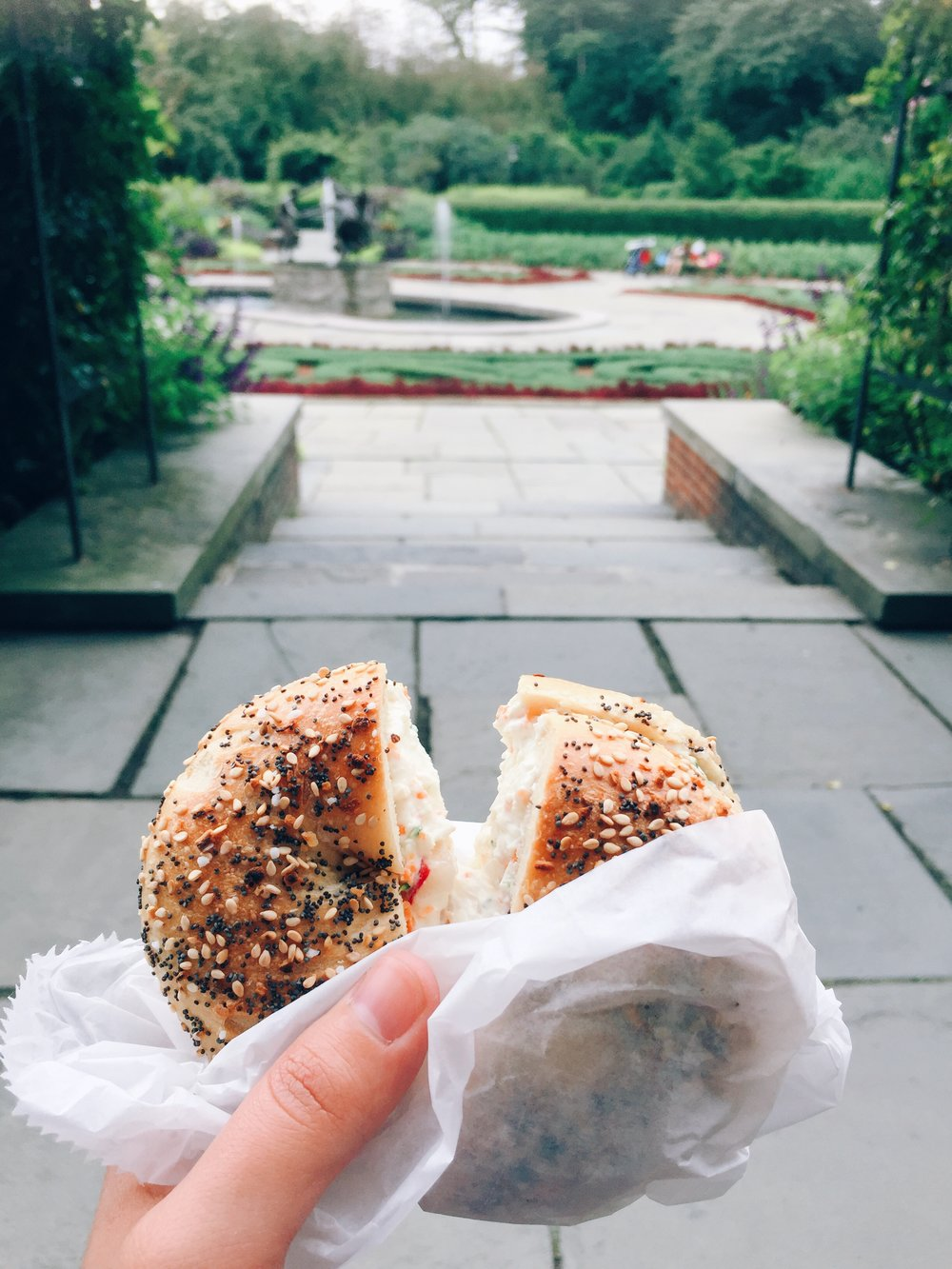 TBH I still dream about this bagel...