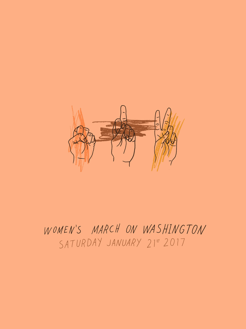 Women's March on Washington Posters