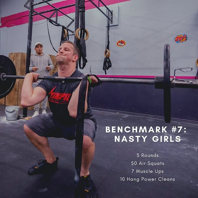 Who's ready for a killer benchmark tomorrow? #nastygirls #crossfitwod #benchmark #synapsebenchmarks #crossfit #crossfitsynapse #bestgymever