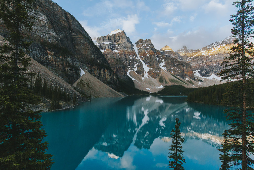 Serenity at Moraine Lake