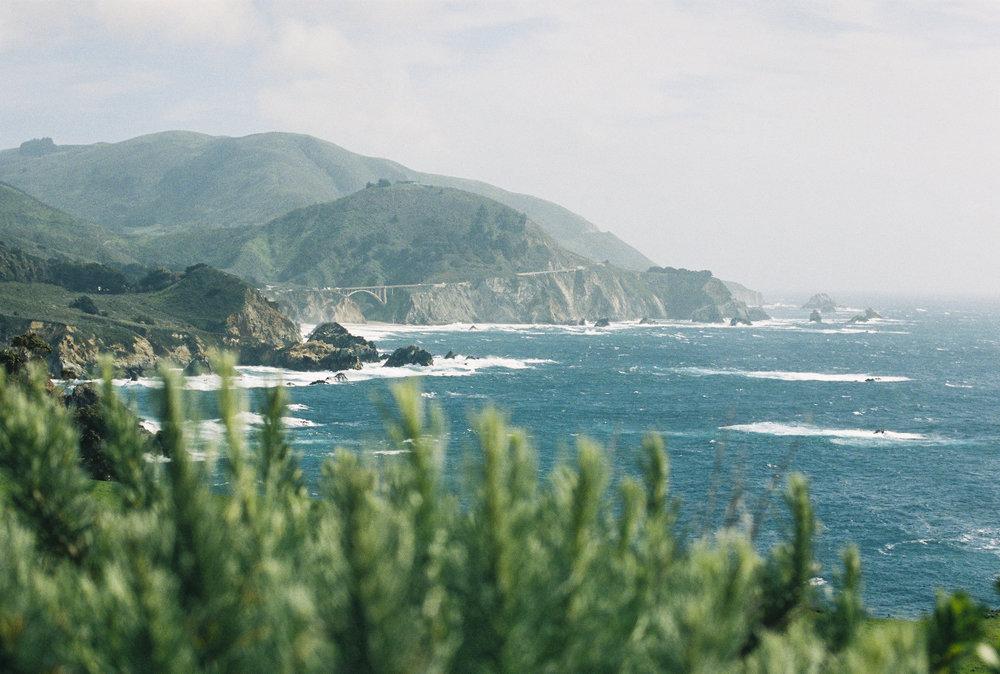 California on #35mm Film -