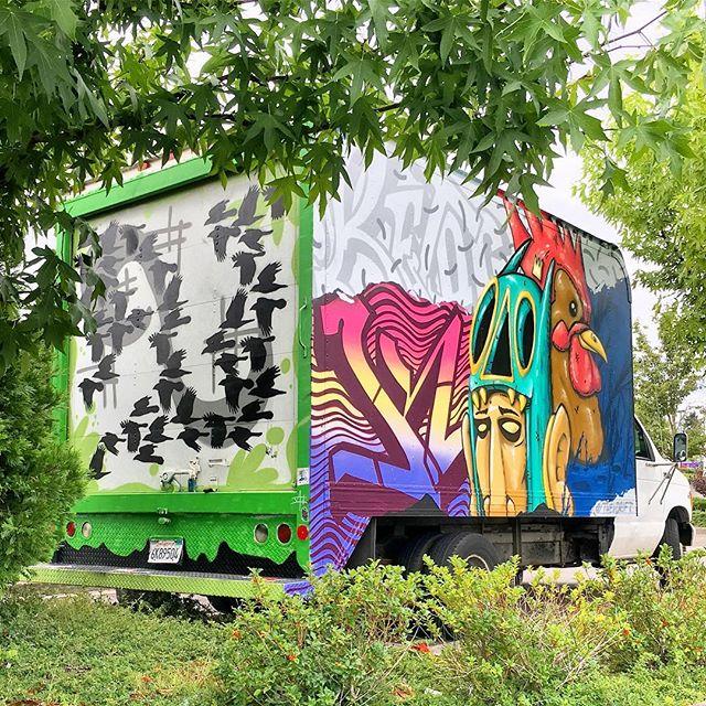 #love #newpaintjob @theydrift @jeremynovy #toytruck #truckhouse #arttruck #vancouverwa