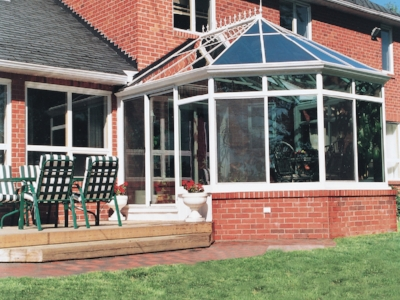 Conservatory Sunrooms   Made in ALUMINUM & WOOD