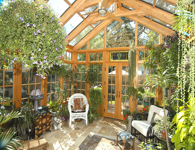 Cathedral Sytle Sunroom Addition