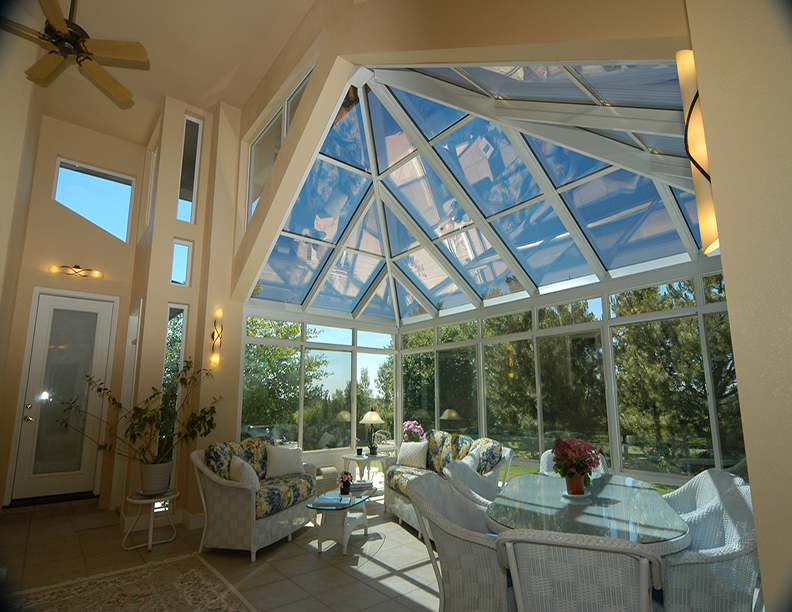 Georgian Style Sunroom Addition
