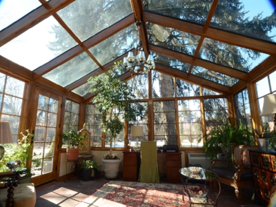 Glass Roof With Wood Frame Photos