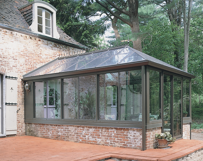Georgian Conservatory With Aluminum Frame Photos