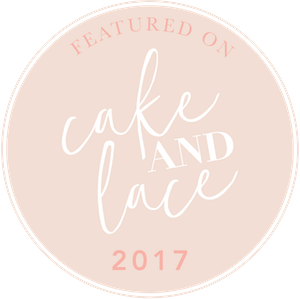 Featured on Cake and Lace Blog