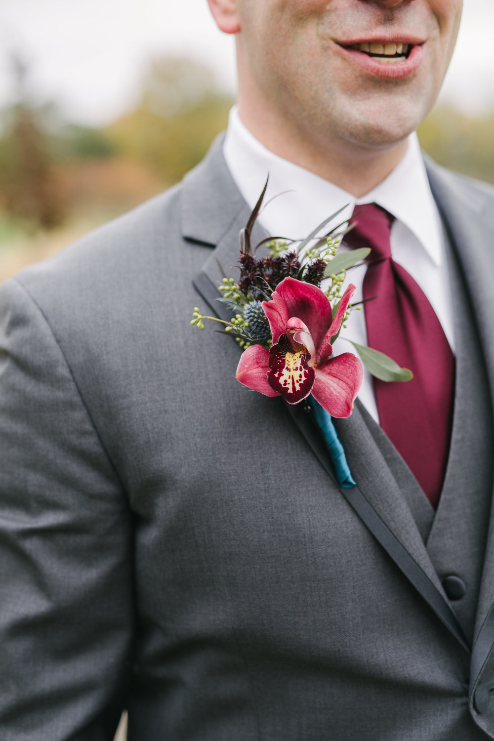 Jewed Toned Wedding Boutonnieres