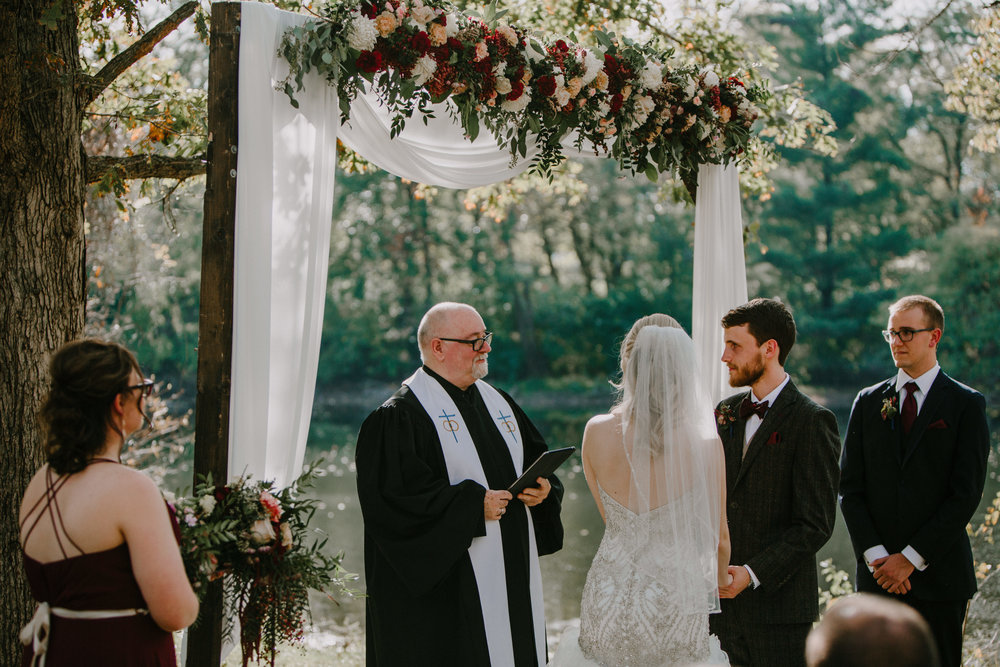 Ceremony Flower Arbor